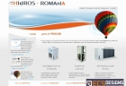 Website for Hidros Romania