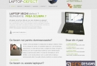Website Laptop defect