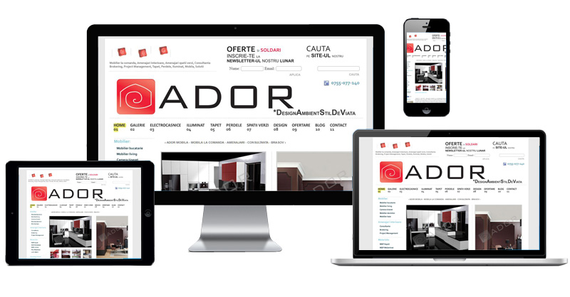 Website Adormobila