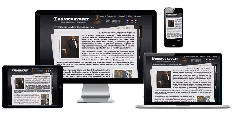 Website Brasov Avocat
