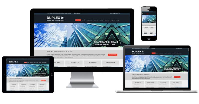 Site prezentare Duplex 91
