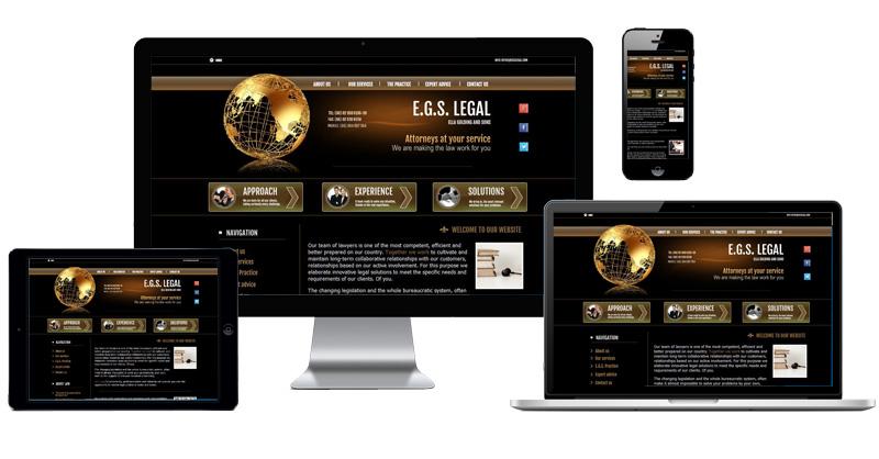EGS Legal website