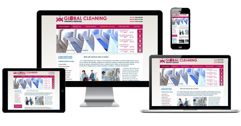 Website Global Cleaning
