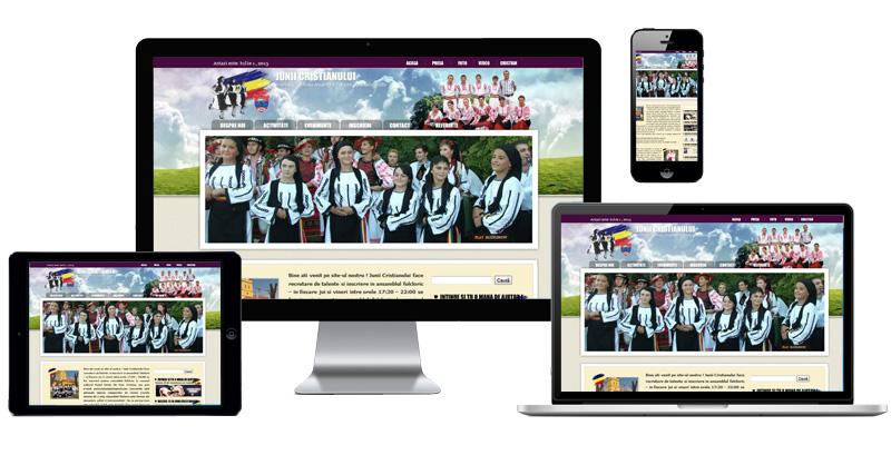 Website Junii Cristianului
