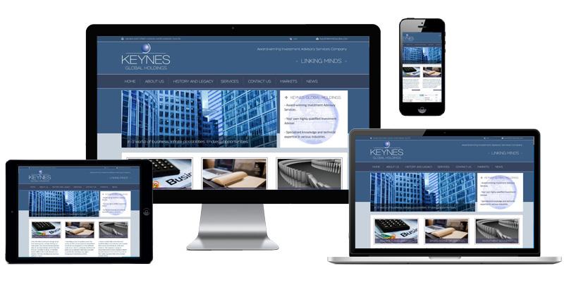 Website Keynes Global