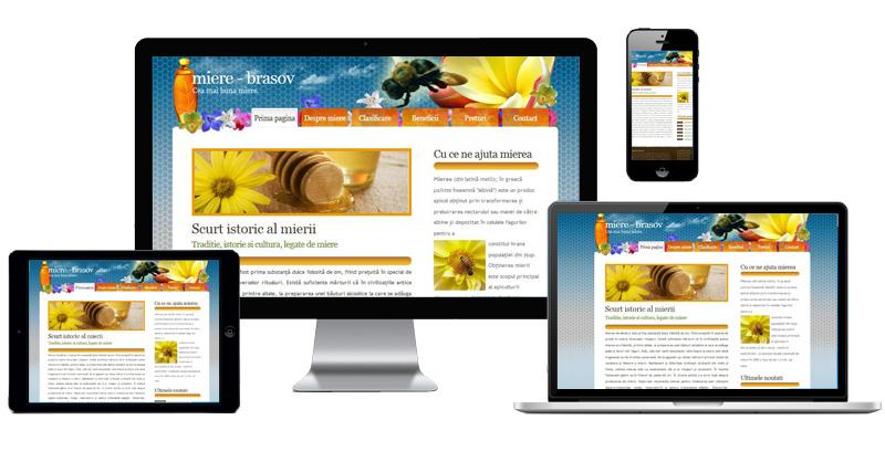 Website Miere Brasov