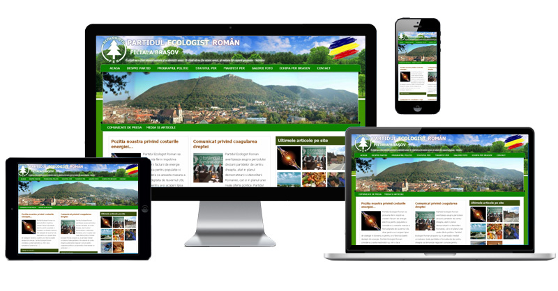 Website PER Brasov