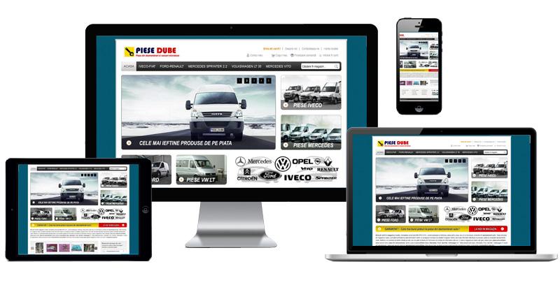 Magazin online Piese Dube