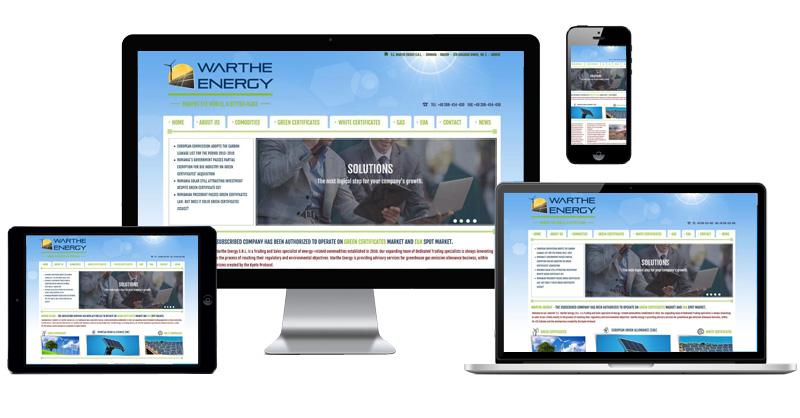Website Warthe Energy